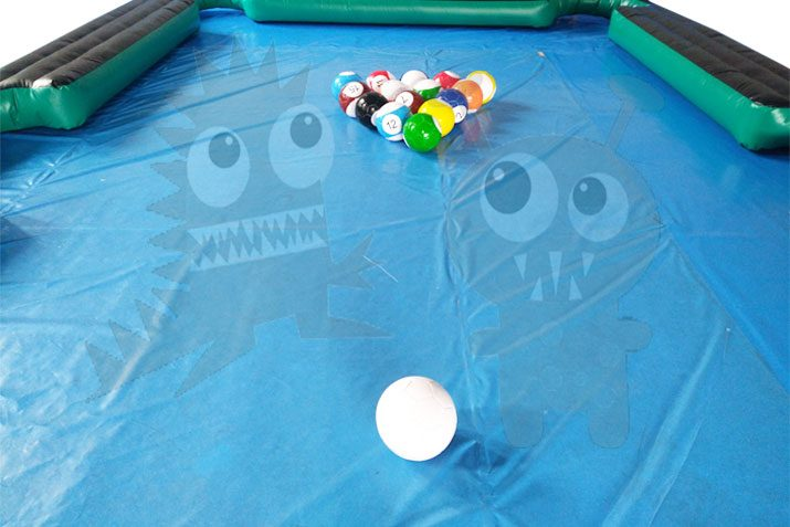 Inflatable Billiard Pool Table Sports Game Commercial Inflatable For Sale