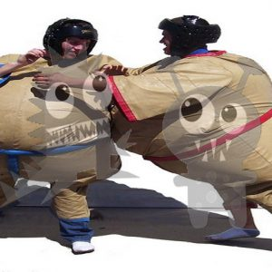 spo-sum-2 Foam Commercial Sumo Suits with Mat For Sale