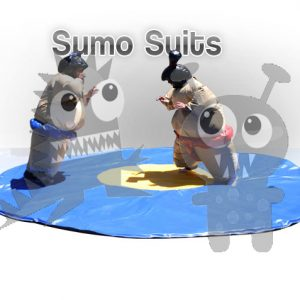spo-sum-3 Commercial Sumo Suits with Mat For Sale