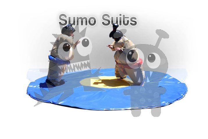 Commercial Sumo Suits with Mat For Sale