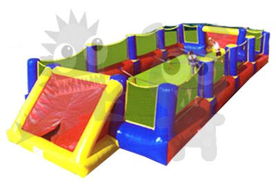 Inflatable Soccer Field Sports Game Commercial Inflatable For Sale