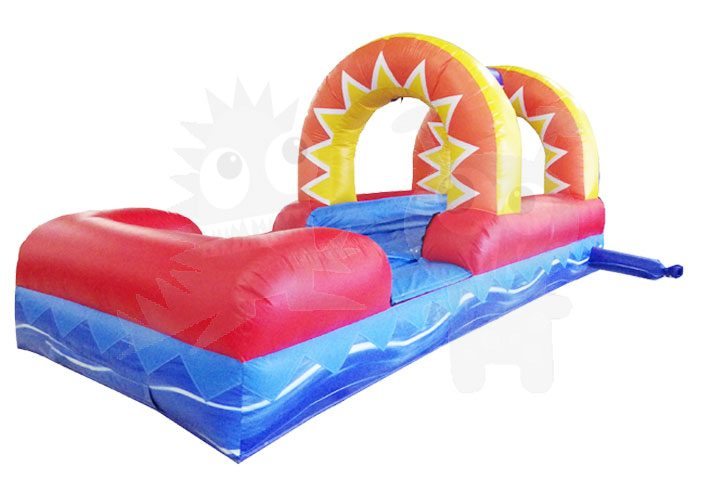 18' Water Slide Attachment Sunshine Slip 'n Slide Commercial Inflatable For Sale