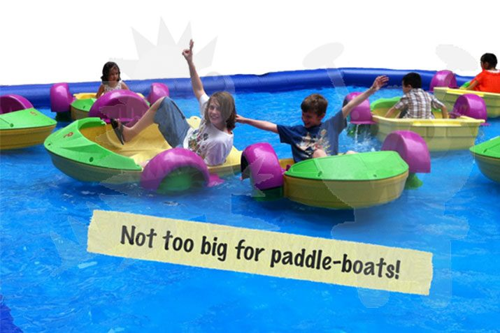 Commercial Toy Water Paddle Boat For Sale