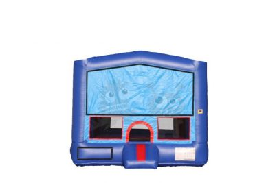 13 x 13 Inflatable Red Blue Bounce House Jumper Commercial Inflatable For Sale