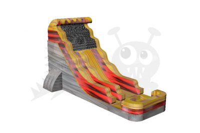 18' Volcano Flame Wet/Dry Water Slide Commercial Inflatable For Sale