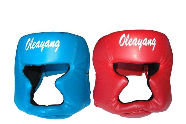 Oversized Helmets for Inflatable Jousting or Boxing