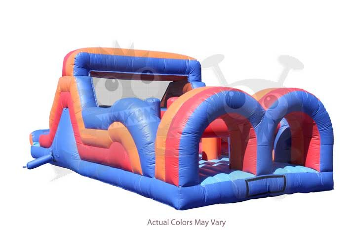 Commercial Inflatable Obstacle Course Wet/Dry Slide Commercial Inflatable For Sale