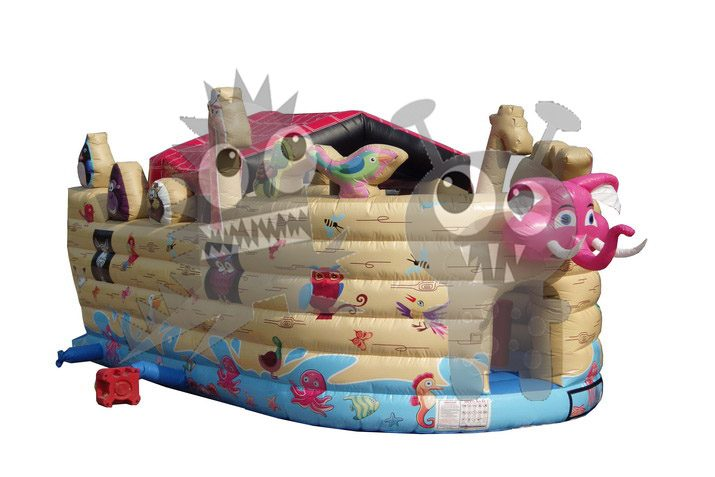 Inflatable Noah's Ark Playground Commercial Inflatable For Sale
