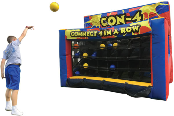 Connect 4 Inflatable Game Commercial Inflatable For Sale
