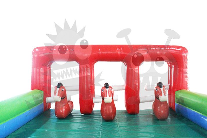 Inflatable Pony Race Track Commercial Inflatable For Sale